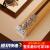 SEICHI重型アルミンカーンレール厚手直レールレールレールナノトラックローマポール静音レ-ル象牙白-双軌頂装-毎米価格