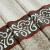 キウ天然素材のリンネルスタイルの新中国式リビンベルン半遮光厚い手カーンテオオタン既制カーンセパレート-カーキ高2.7 mカスタム幅1 m(打孔ナノリング)