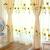イカセテン坊カーターテン田园风ひまわり糸太阳花テン天然素材刺繡断热ベロンダレースカーテン3.0メートル幅*2.7メートルの高さ打穴式可改高さ
