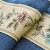 ノロ家具の高級な雪ラシャの既製カーターテン純青いビレッグ寝室の掃き出し窓ベロンダ遮光レストラン刺繡紗カーターテーン布フック幅3高2.7一枚(改高可能)