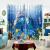 カーサニー(ASHANI)オーダカーターテーン半完全遮光カーリングテーンの切れ热いカーストテーン子供部屋男の子漫画主题寝室掃き出し窓海底世界E 0066-ビーチ熱帯魚布-フック幅1メートル価格/何メートルを撮りますか?