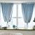 电撃客网红ins布纱一重層女系短窓フレッグ寝室完全遮光カーリングベージュ色布+纱(打孔款)幅2*高2.7一片