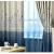 イカテルテルテルテルテル地中海城砦カーン既製カーリングシステムシステムシステムシステムシステムシステムシステムシステムシステムシステムの寝室リビン断熱カーターテン完全遮光サンバイザー厚い手布天青(遮光85%)2.0メートル幅*2.7メートル高さフルク改高度