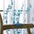 金蝉カステラテ遮光厚手仿麻混紡刺繡既製のカーレーステーリング寝室カーリングテーンチェーン南池春暁-青い布カーン(下花)0.1メートルの追加撮影価格