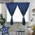 诺罗2020年新款网红热银星星マイジ自粘小カマンパンは寝室の窓をインストールしないでください。テーピングは简易で完全に遮光します。紺パンは幅1.5 m*高さ2 m/1枚はインストールしないでください。