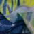 ノロ北欧シングルスブルーの夢を見るリビグ寝室子供部屋掃き出し窓窓既製カーン半遮光月下小鹿布普通連結金幅2.5 m*高2.5 m/1片